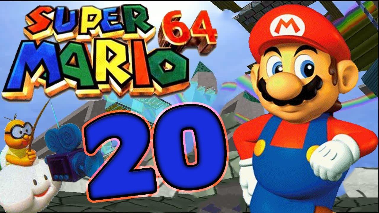 Let\'s Play Super Mario 64 Part 20: Mario als Sultan auf dem fliegenden  Teppich