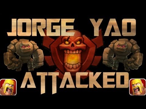 Jorge Yao REVENGE ATTACK! #1 Player Epic 900k+ Clash Of Clans Raid!
