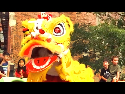 2016 Lion Dance Performance Chinatown Rose Kennedy Greenway