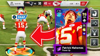 I WENT 30/30 with MAHOMES! 4TH ABILITY MAKES HIM UNSTOPPABLE! - Madden 20 Ultimate TEAM!