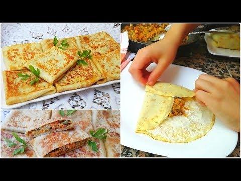 crêpes-salées-délicieuse-recette-facile-et-rapide-👌👍😉-cuisine-marocaine-ramadan2019