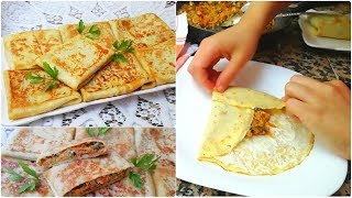 Crêpes Salées délicieuse recette facile et rapide 👌👍😉 cuisine marocaine ramadan2019