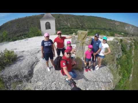 Orheiul Vechi day Out Family Dicusar, Holiday Trip To Moldova in very popular place