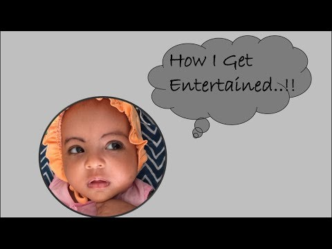 How I Entertain My 2 Month Old Baby 👶🏻 || How To Occupy Your 2 Month Old Baby
