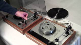 Vintage Thorens TD-160 Turntable vs Thorens TD-165 Turntable: Comparison of Features