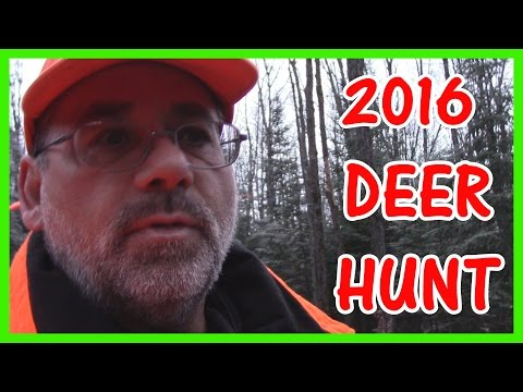 My Deer hunting  video from 2016