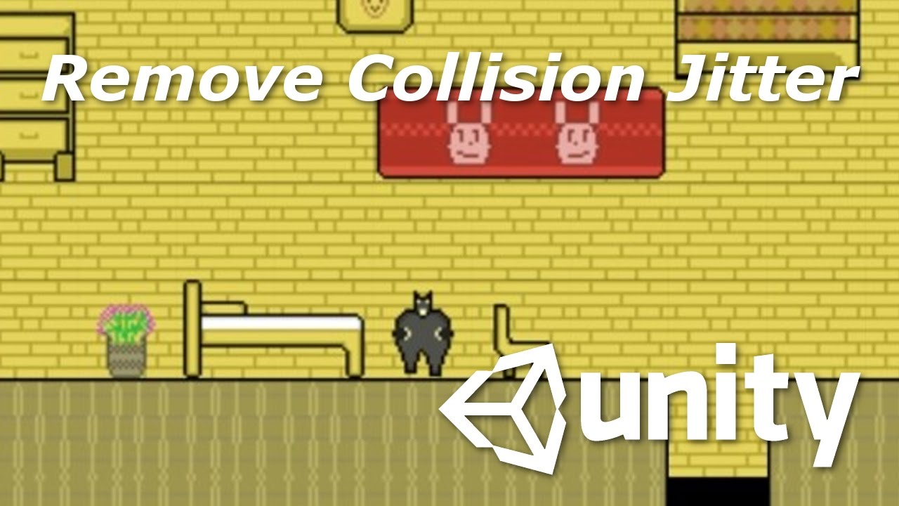 No Jitter 2D Collision Movement with RigidBody2D | Unity 5 Tutorial for  Beginners