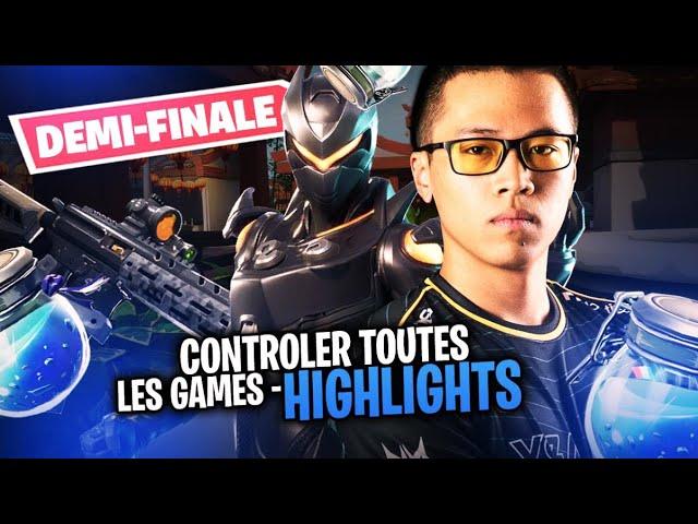 CONTRÔLER TOUTES LES GAMES - FORTNITE CHAMPION SERIES [HIGHLIGHTS]