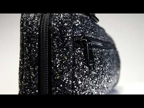 Beaumont Black Sparkle B-foot Flute Bag