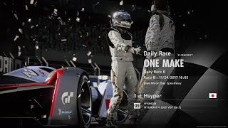 Gran Turismo Sport | Season 4 Round 6 FIA Series 2017 | Daily Races | Game Pad Only