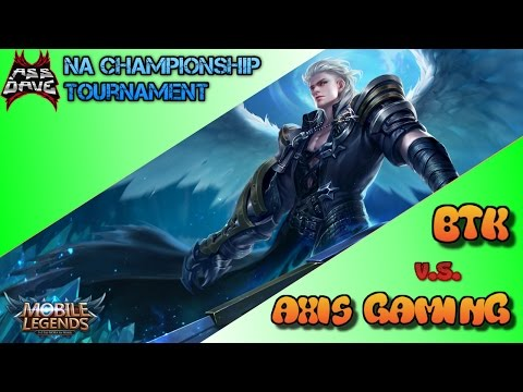 Team BTK vs Team Axis Gaming - Mobile Legends NA Mid-Season Championship Tournament