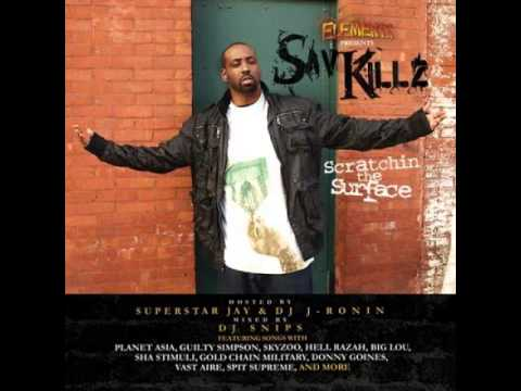 Sav Killz - Hoodlums And Crooks (ft. Spit Supreme)