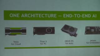 Sponsored session: Recent advancements in Deep Learning techniques using GPUs.