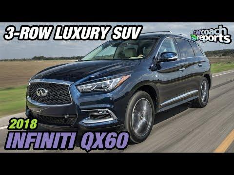 2018 Infiniti QX60 - 3-Row Luxury SUV