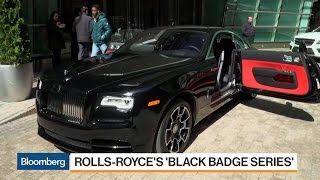 Rolls-Royce's 'Black Badge' Series Targets Young Drivers