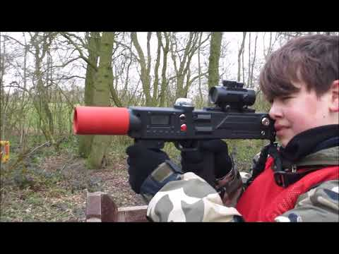 It's here!!!! ASHQ Woodland Laser Tag Adventures Shooting4Fun with Marksman Leisure