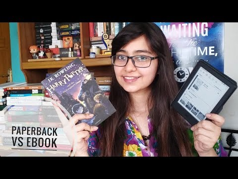 Paperback VS Kindle E-books ! Who Wins??