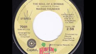 "Margo Thunder ""The Soul of a Woman"" NORTHERN 70s SOUL"