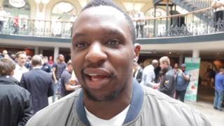DILLIAN WHYTE - HES FRONTING, ACTING LIKE HE'S NOT NERVOUS. I CANT WAIT TO PUNCH HIM IN THE FACE'