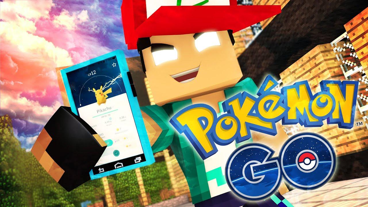 Resultado de imagem para qual é melhor Pokemon go ou minecraft