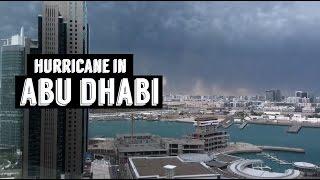 STORM AND HURRICANE IN ABU DHABI AND DUBAI !!!