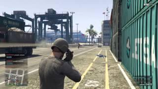 PS4: GTA 5 Online перестрелка Морской вокзал командный бой
