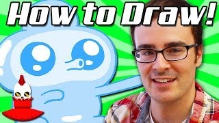 How To Draw Jelly Kid from Bravest Warriors on Cartoon Hangover