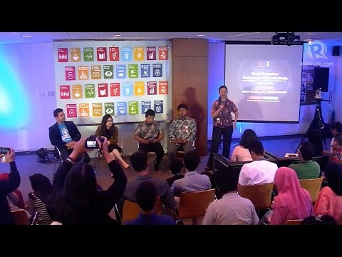 Indonesia +SocialGood panel discussion on social media and technology