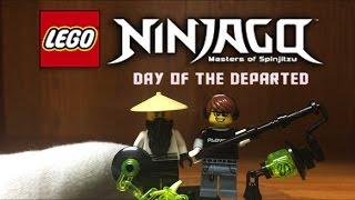 LEGO Ninjago Custom HUMAN SENSEI YANG Minifigure from Day of the Departed Special 2016 Season 7