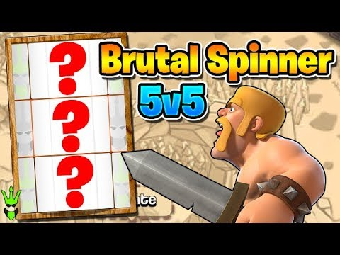 """THE RANDOM SPINNER IS BRUTAL...AGAIN! CAN I WIN? - 5v5 Friday - """"Clash of Clans"""""""