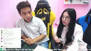 live stream  lan dau linh ngoc dam chia se ve cuoc doi cua 1 streamer