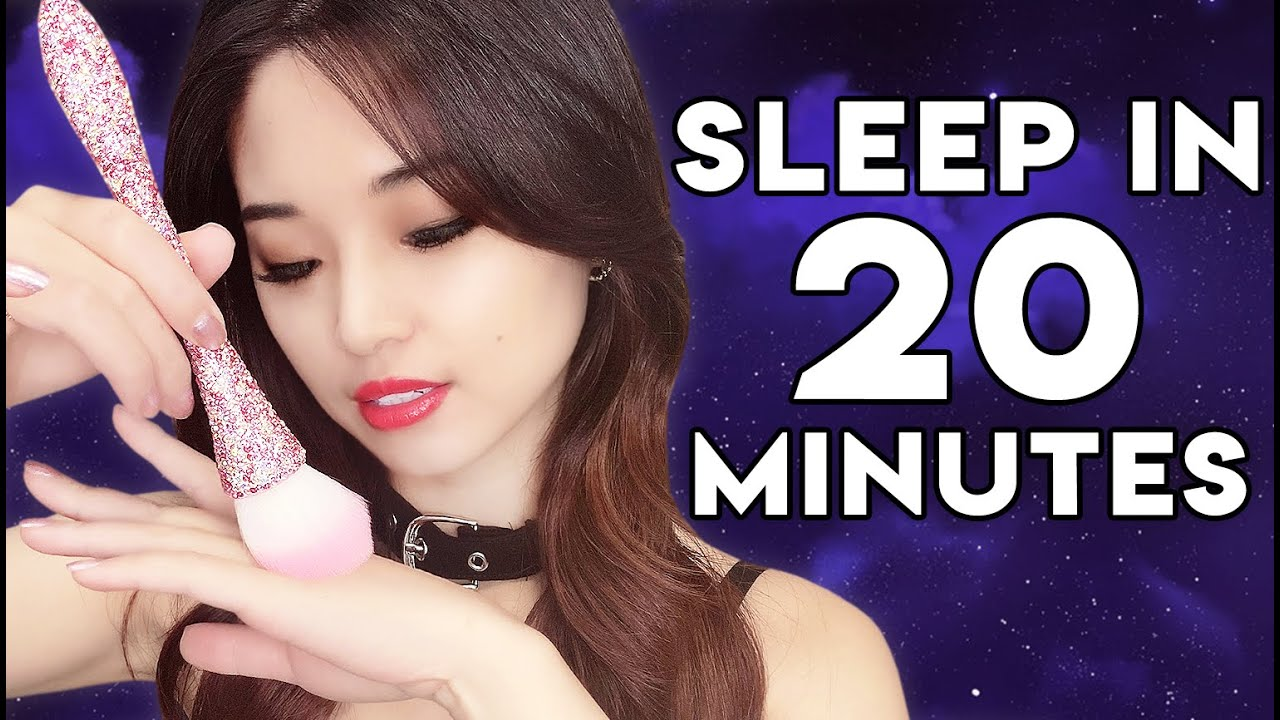[ASMR] Sleep in 20 Minutes ~ Brushing Relaxation