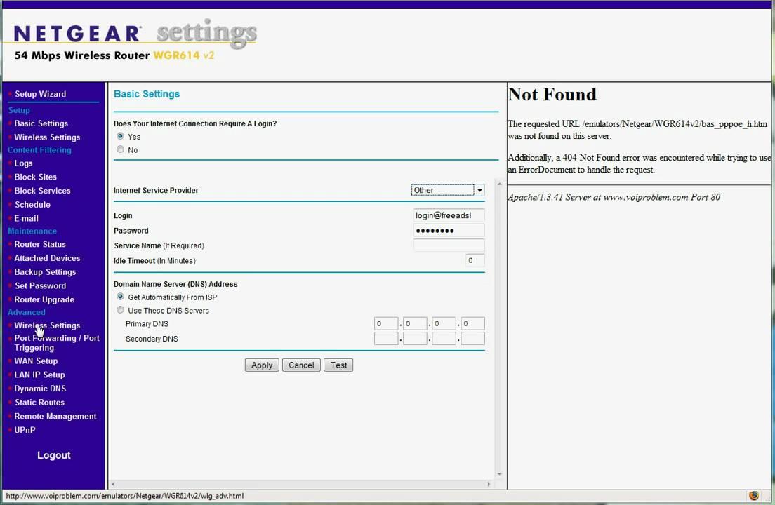 Netgear Advanced Wireless Security using a MAC filter
