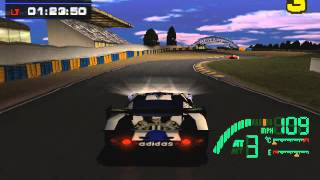 Test Drive Le Mans (PS1) - 24 Hour Race (12 minutes)