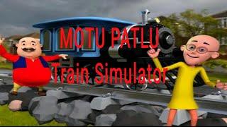 Motu_Patlu_-_ train-simulator_game _on youtube video complete level..Android/ios gameplay HD (KGT) screenshot 4