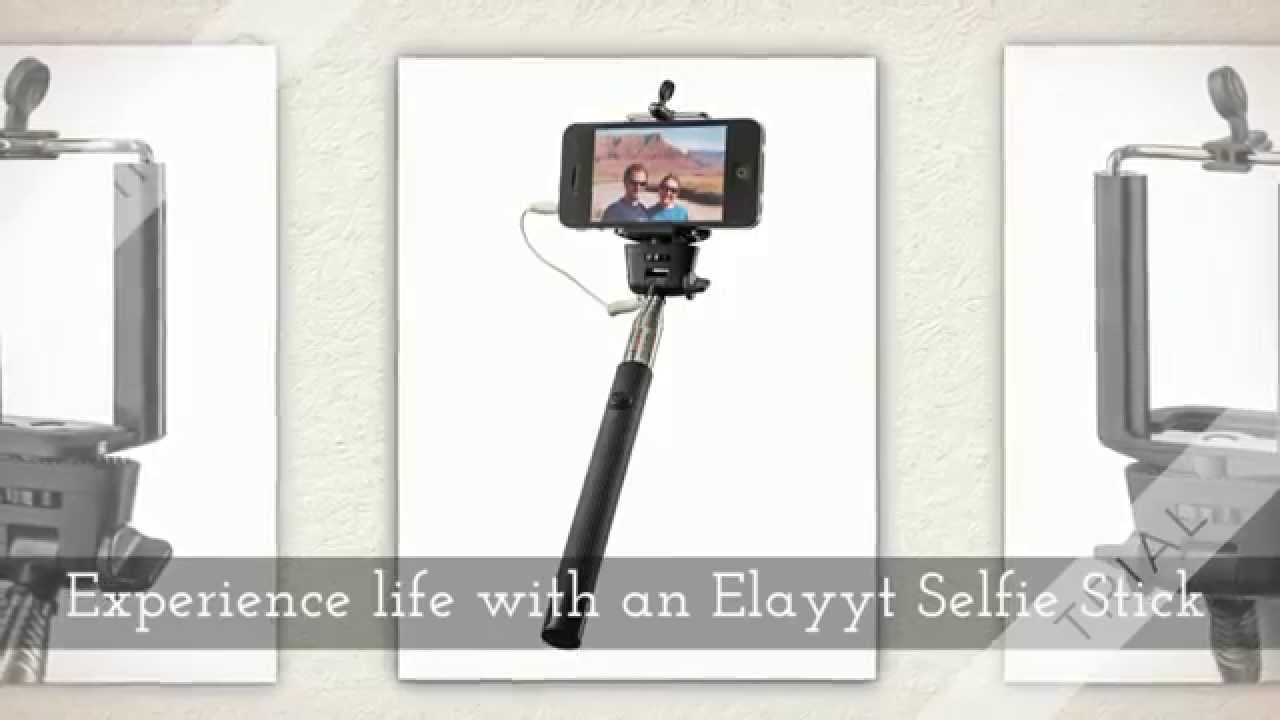 elayyt selfie stick 1080p youtube. Black Bedroom Furniture Sets. Home Design Ideas