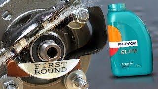 Repsol Elite Evolution 5W40 Jak skutecznie olej chroni silnik?