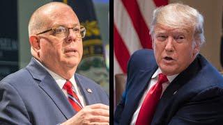 Maryland's Republican Governor Slams President Donald Trump