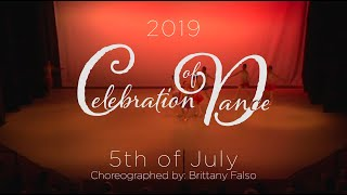WIDT's Celebration of Dance 2019's 5th of July