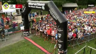 Cross  Plateau 1   Départ   Chamonix Marathon du Mont Blanc 2015