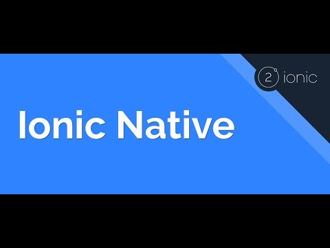 Installing & Using Ionic Native Plugins