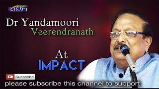 Dr Yandamoori Veerendranath at IMPACT Kamareedy  2017