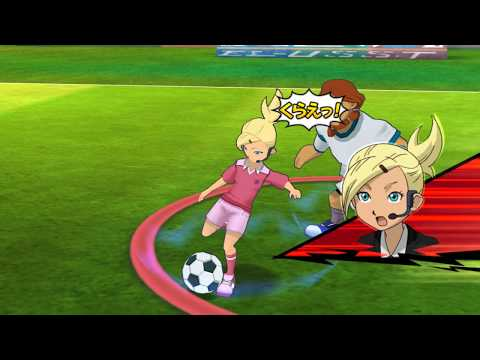 Inazuma Eleven Strikers Go 2013 Inazuma Girls vs Zeus Wii Epic Hissatsus (hacks for Dolphin)