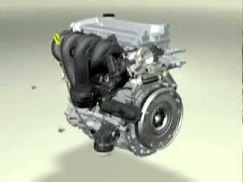Componentes e funcionamento do motor DOHC 16v