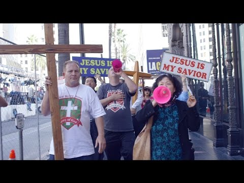 Hollywood March for Jesus with Christian Conservatives - LIFE by MR. SUNSET