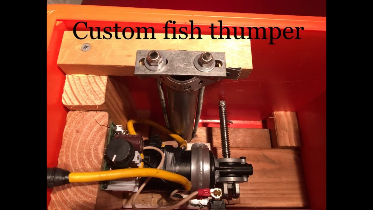 How To Make An Electric Motor >> Fish Thumper - YouTube