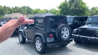 Here's a 2002 TJ Jeep Wrangler   For Sale Review @ Rodgers Wrangler in Charleston, SC