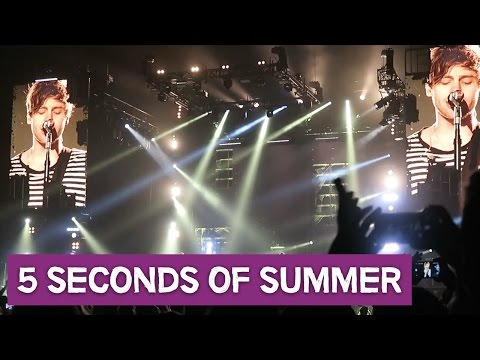 5 SECONDS OF SUMMER - DAG #2 - CONCERTVLOG #7 - Dreaming Out Loud