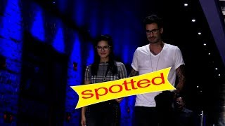 SUNNY Leone SPOTTED WITH HER HUSBAND AT HAKKASAN
