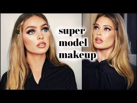 doutzen kroes 90s SUPERMODEL makeup tutorial! thumbnail